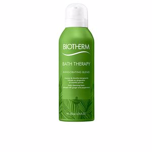 Shower gel BATH THERAPY invigorating blend body cleansing foam Biotherm