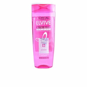 Shampoo for shiny hair ELVIVE nutri-gloss luminizer champú alto brillo L'Oréal París