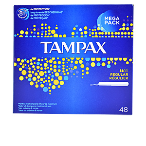 Tampons hygiéniques TAMPAX REGULAR tampon Tampax