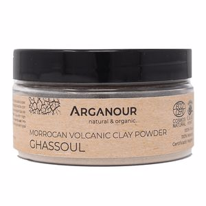 Hair mask for damaged hair MASCARILLA ARCILLA GHASSOUL en polvo Arganour