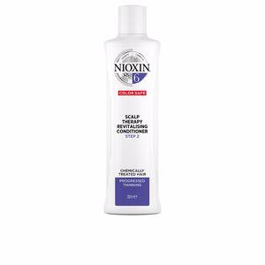Acondicionador reparador SYSTEM 6 SCALP THERAPY revitalising conditioner step 2 chemically treated hair Nioxin
