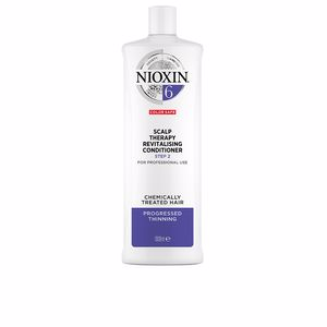 Acondicionador reparador SYSTEM 6 SCALP THERAPY revitalising conditioner step 2 chemically treated hair Nioxin