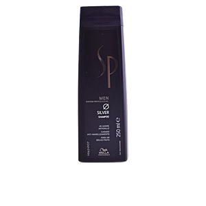 Champú color SP MEN silver shampoo System Professional