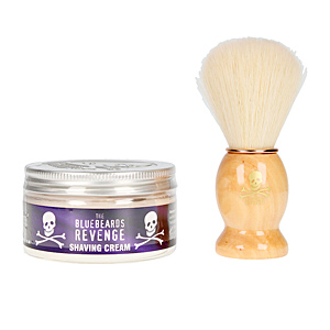 Shaving Brush SHAVING CREAM & DOUBLOON SET The Bluebeards Revenge