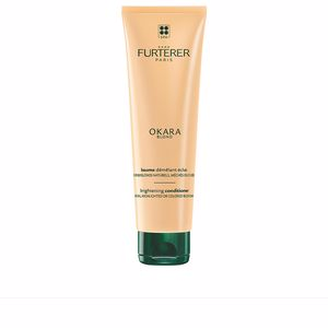 Shiny hair products OKARA BLOND brightening conditioner Rene Furterer