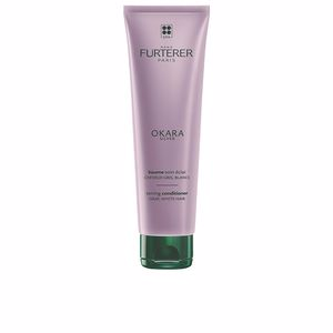 Conditioner for colored hair OKARA SILVER toning conditioner Rene Furterer