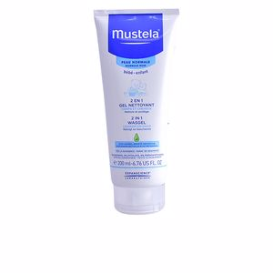 Moisturizing shampoo BÉBÉ 2 IN 1 hair & body wash Mustela