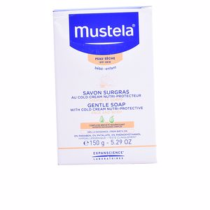 Hand soap BÉBÉ GENTLE SOAP with cold cream 0% Mustela