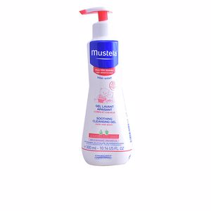 Gel de banho BÉBÉ SOOTHING CLEANSING GEL very sensitive skin Mustela