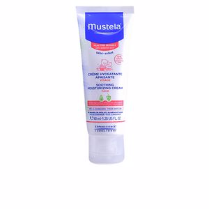 Soin du visage hydratant BÉBÉ SOOTHING MOISTURIZING CREAM very sensitive cream Mustela