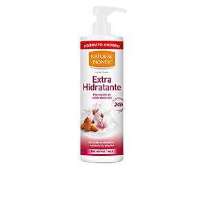 Body moisturiser ACEITE ALMENDRAS DULCES loción extra hidratante Natural Honey