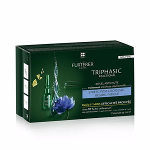 Hair loss treatment TRIPHASIC ANTI-HAIR LOSS RF80 treatment vials Rene Furterer