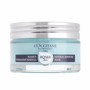 Soin du visage hydratant AQUA RÉOTIER masque hydratation minérale L'Occitane