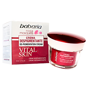 Anti blemish treatment cream ROSA MOSQUETA VITAL SKIN DESPIGMENTANTE crema facial Babaria