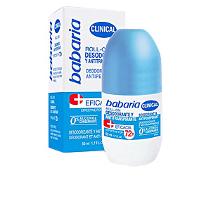 Deodorante CLINICAL 0% 72h deodorant roll-on Babaria