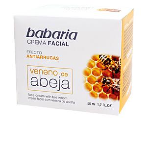 Cremas Antiarrugas y Antiedad VENENO DE ABEJA crema facial antiarrugas Babaria