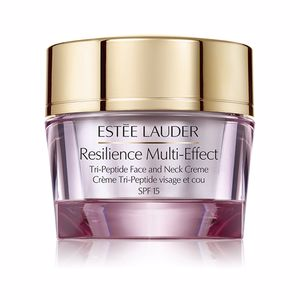 Anti aging cream & anti wrinkle treatment RESILIENCE MULTI-EFFECT face and neck SPF15 piel seca Estée Lauder