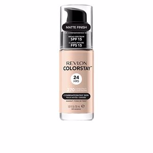 Revlon Make Up, COLORSTAY foundation combination/oily skin #270-chestnut