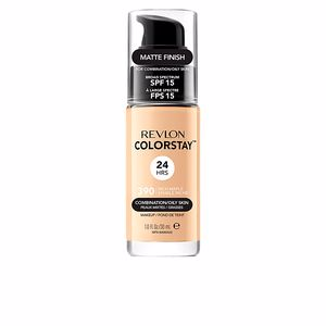 Revlon Make Up, COLORSTAY foundation combination/oily skin #390-rich marple