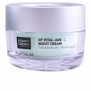 Tratamiento Facial Reafirmante PLATINUM GF VITAL AGE night cream Martiderm