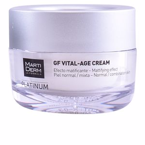 Tratamento para flacidez do rosto PLATINUM GF VITAL AGE day cream normal/combination skin Martiderm