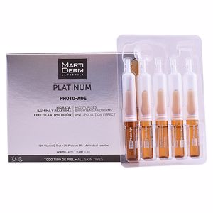 Antioxidant treatment cream PLATINUM PHOTO-AGE ampoules Martiderm