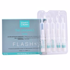 Soin du visage anti-fatigue THE ORIGINALS FLASH ampoules Martiderm