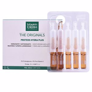 Antioxidant treatment cream THE ORIGINALS proteos hydra plus ampoules Martiderm
