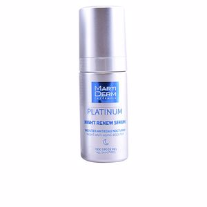 Soin du visage raffermissant PLATINUM NIGHT RENEW serum Martiderm