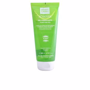 Nettoyage du visage ACNIOVER gel purificante piel grasa y acnéica Martiderm