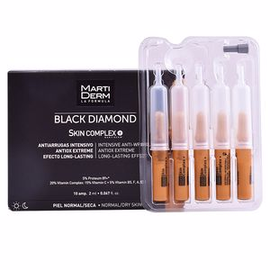 Soin du visage antioxydant BLACK DIAMOND intensive anti-wrinkle ampoules Martiderm