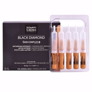Anti-rugas e anti envelhecimento BLACK DIAMOND intensive anti-wrinkle ampoules Martiderm