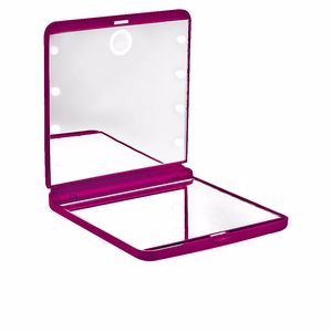 Miroir ESPEJO OHH! light touch doble plegable con luz led #rosa Beter