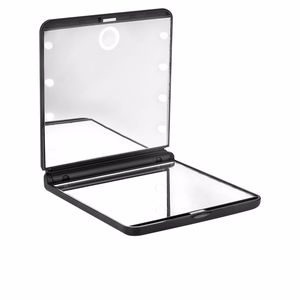 Badezimmerspiegel ESPEJO OHH! light touch doble plegable con luz led #negro Beter