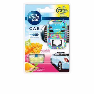 Purificador de ar CAR ambientador aparato + recambio #fruta tropical Ambi Pur