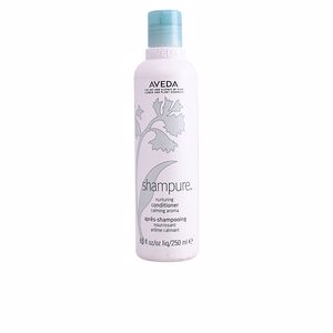 Shiny hair products SHAMPURE conditioner Aveda