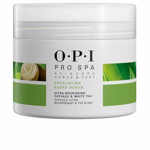 Manicure and Pedicure PROSPA exfoliating sugar scrub Opi