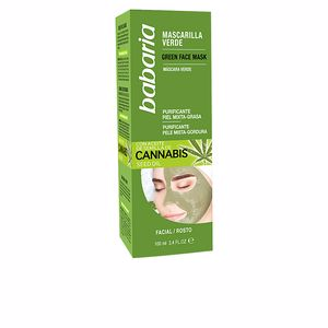 Matifying Treatment Cream CANNABIS MASCARILLA VERDE facial piel mixta/grasa Babaria