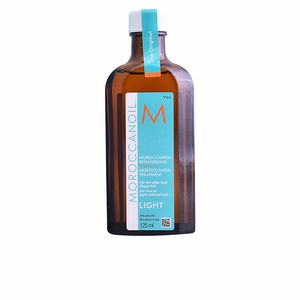 Haarbehandlung für Glanz - Feuchtigkeitscreme für das Haar LIGHT oil treatment for fine & light colored hair Moroccanoil