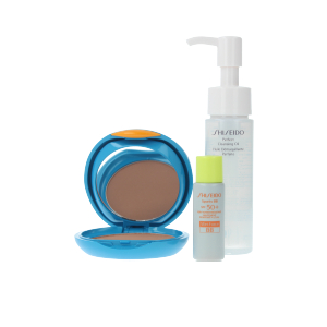 Foundation makeup EXPERT SUN COMPACT FOUNDATION SET Shiseido