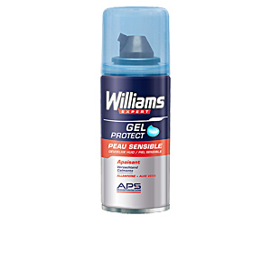Shaving foam PROTECT shaving gel sensitive skin Williams