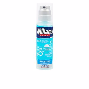 Shaving foam EXPERT OXYGEN gel afeitar piel sensible Williams
