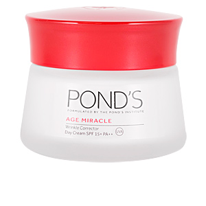 Anti aging cream & anti wrinkle treatment AGE MIRACLE crema correctora antiarrugas día SPF15 Pond's