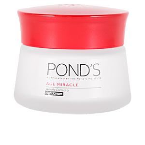 Anti aging cream & anti wrinkle treatment AGE MIRACLE crema correctora antiarrugas noche Pond's