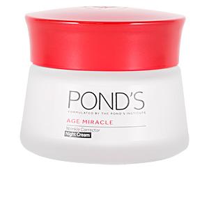 Cremas Antiarrugas y Antiedad AGE MIRACLE crema correctora antiarrugas noche Pond's