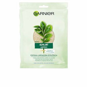 Limpieza facial BIO KONJAC esponja exfoliante-limpiadora ecológica Garnier