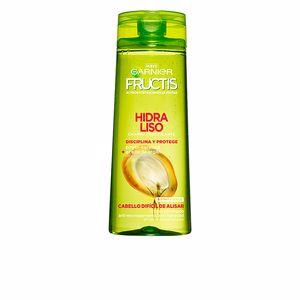 Hair straightening shampoo - Anti frizz shampoo FRUCTIS HIDRA LISO 72H champú Garnier