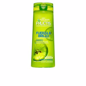 Shampoo for shiny hair FRUCTIS FUERZA&BRILLO champú Garnier