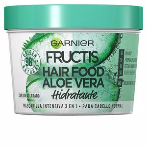 Hair mask for damaged hair FRUCTIS HAIR FOOD aloe vera mascarilla hidratante