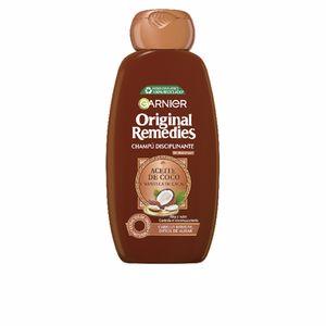 Hair straightening shampoo ORIGINAL REMEDIES champú aceite coco y cacao L'Oréal París